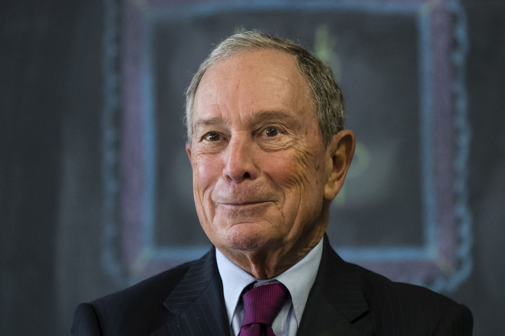 Le milliardaire new-yorkais Michael Bloomberg