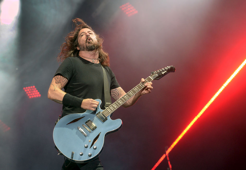 Dave Grohl des Foo Fighters