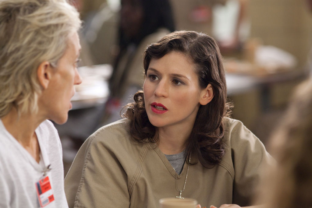 Yael Stone incarne Lorna Morello dans «Orange is the New Black».